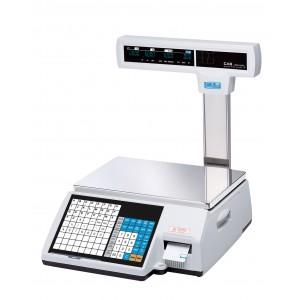 Торговые весы с печатью этикеток CAS CL 5000J-IP