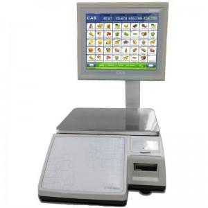 Торговые весы с печатью этикеток CAS CL 7000