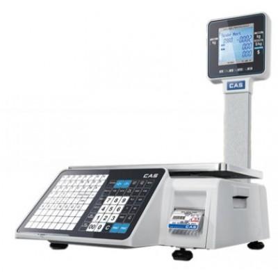 Весы торговые с печатью этикеток многофункциональные -CAS CL3000J-15Р