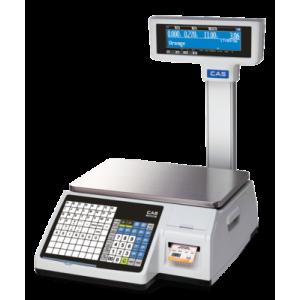 Торговые весы с печатью этикеток CAS CL3000P